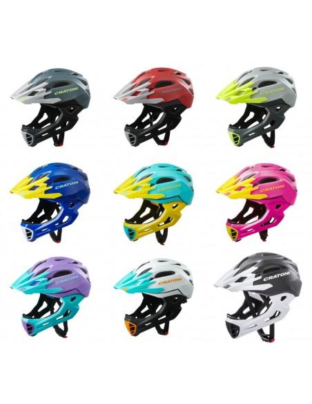 Шлемы Cratoni С-Maniac Full Face S-M (52-56 cm) M-L (54-58 cm)