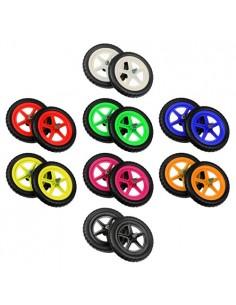 """Цветные колёса Strider 12"""" ультралёгкие"""