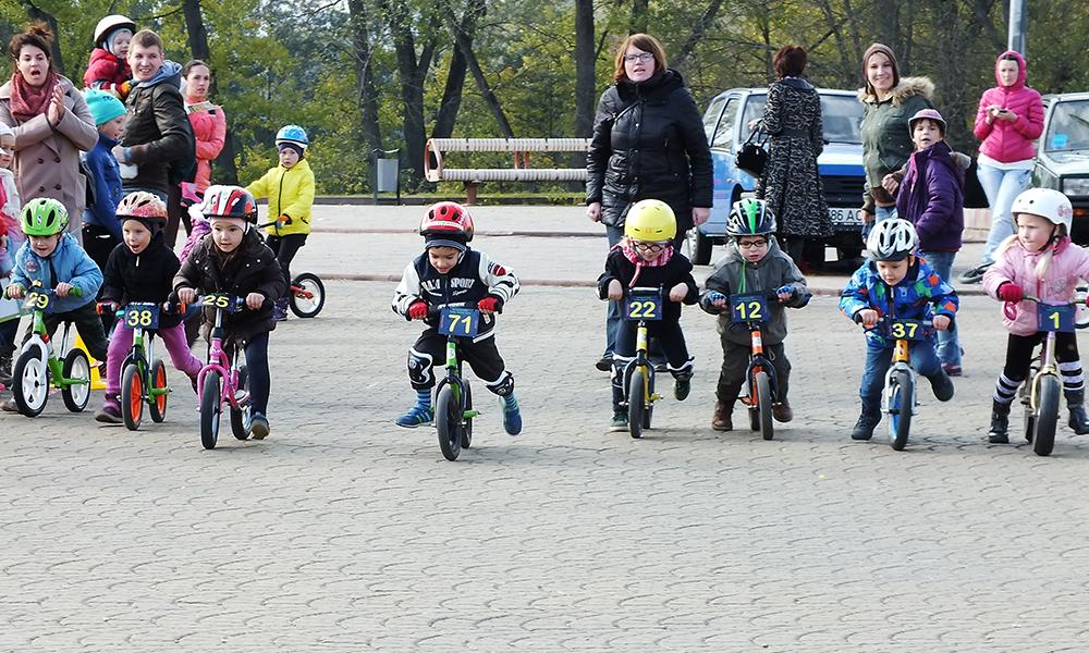 Гонки на беговелах, велосипедах Минск