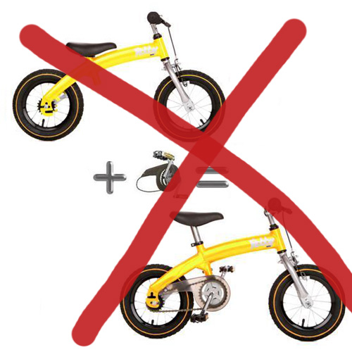 велосипед-беговел 2 в 1 отзыв