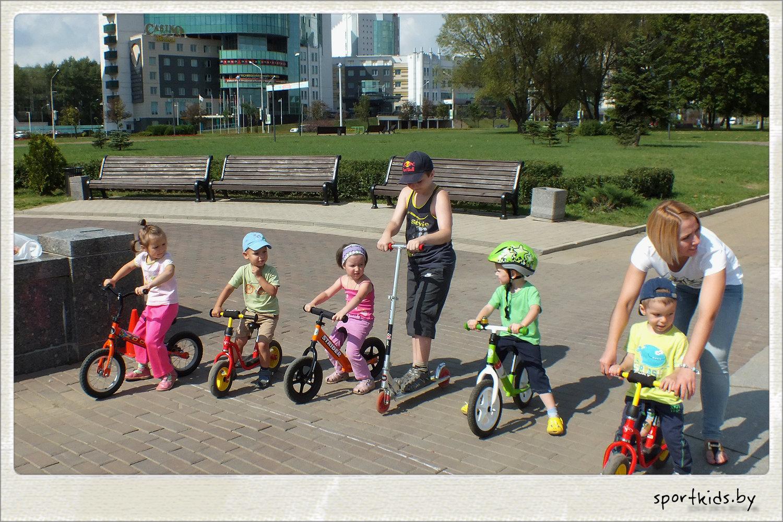 беговелы в Минске парк Победы