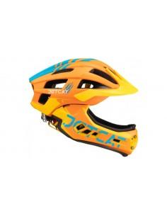 Шлем фулфейс Jet Cat Race со съёмным козырьком